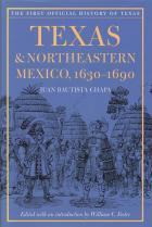Cover of Texas and Northeastern Mexico,1630-1690