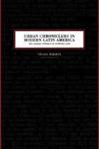 Cover of Urban Chroniclers in Modern Latin America
