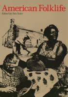 Cover of American Folklife