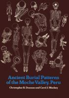 Cover of Ancient Burial Patterns of the Moche Valley, Peru