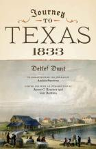 Cover of Journey to Texas, 1833