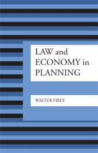Cover of Law and Economy in Planning