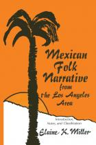 Cover of Mexican Folk Narrative from the Los Angeles Area