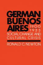 Cover of German Buenos Aires, 1900–1933