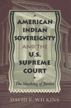 Cover of American Indian Sovereignty and the U.S. Supreme Court