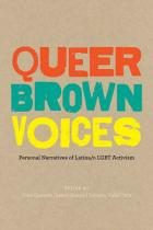 Cover of Queer Brown Voices