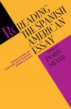 Cover of Rereading the Spanish American Essay