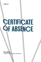 Cover of Certificate of Absence