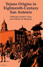 Cover of Tejano Origins in Eighteenth-Century San Antonio