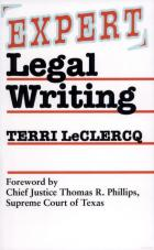 Cover of Expert Legal Writing