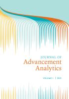 Cover of Journal of Advancement Analytics