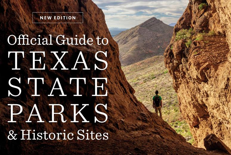 Splash image of Official Guide to Texas State Parks and Historic Sites