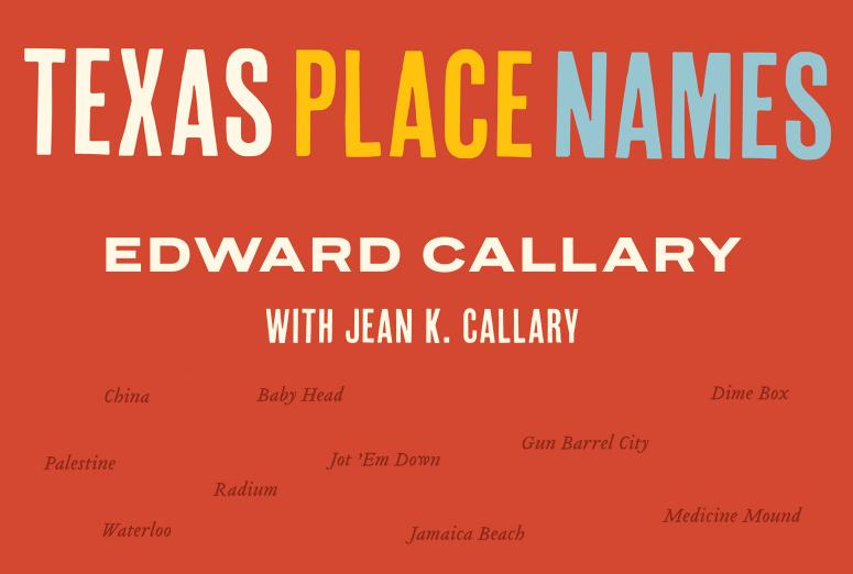 Splash image for Texas Place Names